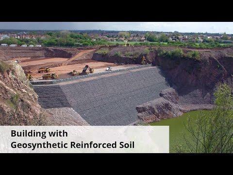 Geosyntetyki – VideoCast | Budynek z gruntem zbrojonym geosyntetyczni