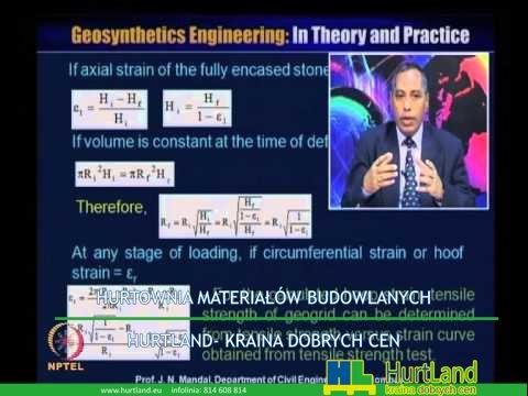 Geosyntetyki – Mod-09 Lec-48 Geosyntetyk do ulepszania podłoża