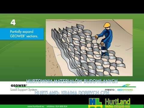 Technologie-Budowlane.com – Geovells Geocells Load Support Podręcznik instalacji Animacja